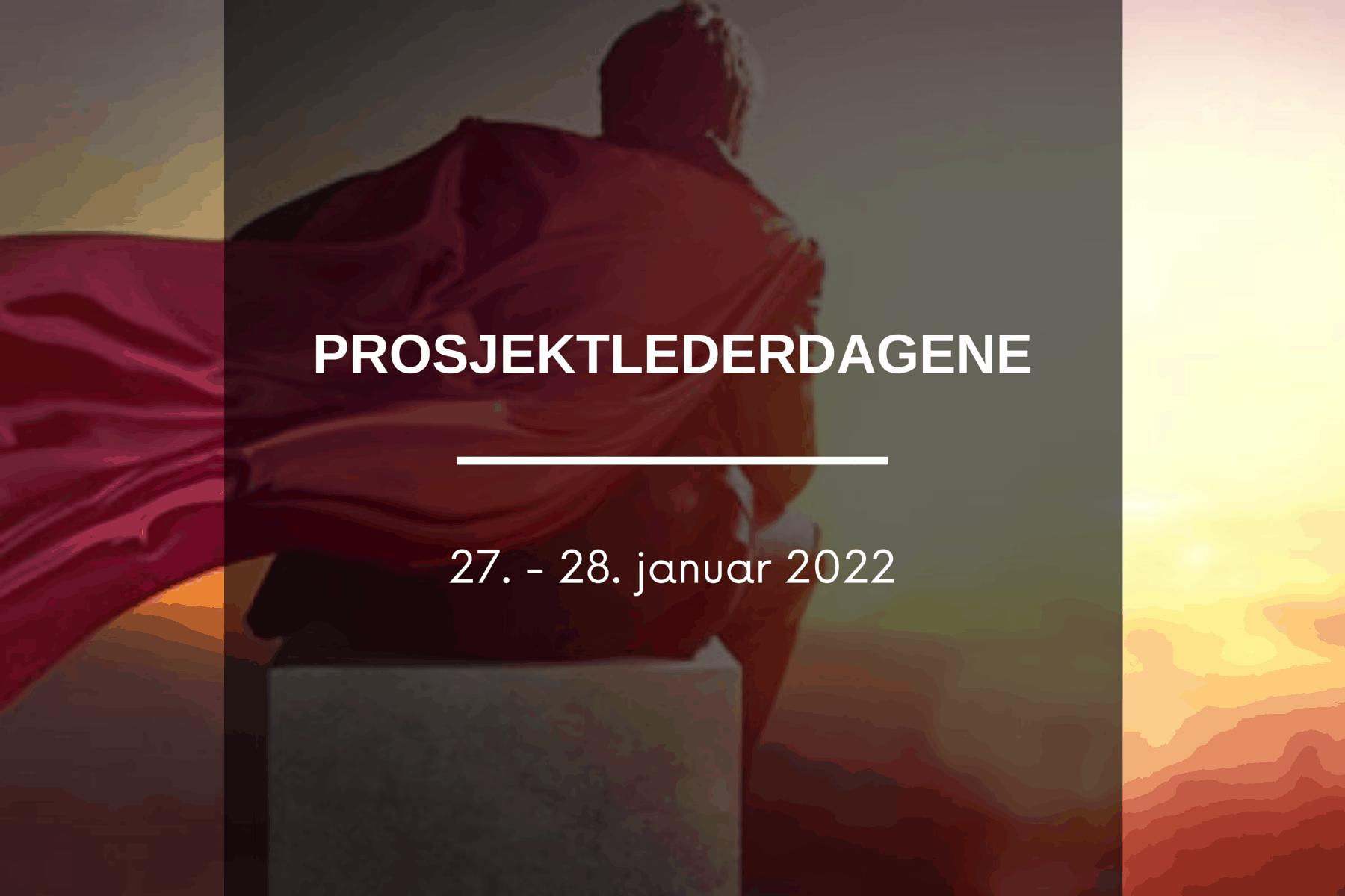 Prosjektlederdagene 2022